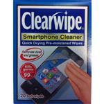 Clearwipe Smartphone Cleaner Wipes 20