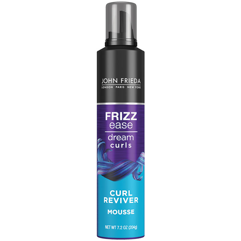 John Frieda Frizz Ease Curl Reviver Styling Mousse 210g
