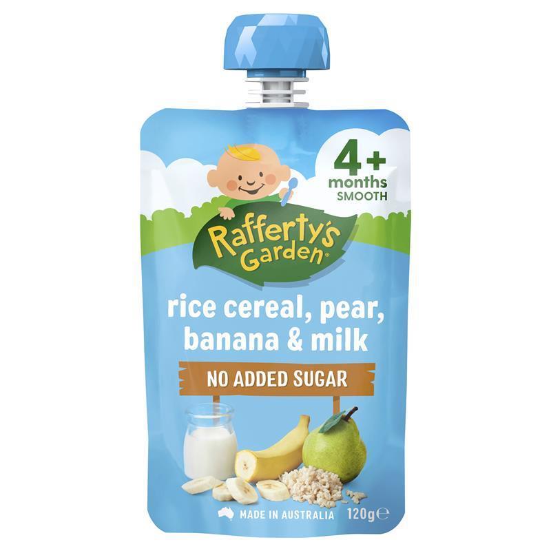 Buy Raffertys Garden 4+ Months Baby Brekkie Rice Cereal