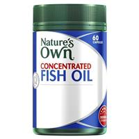 Nature's Own Concentrated odourless Fish Oil 1000mg 60 Capsules