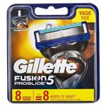 Gillette Fusion Pro Glide Manual Cartridges 8 Pack