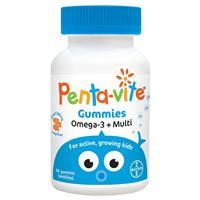 Pentavite Gummies Omega + Multivitamin 60 Capsules