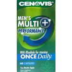 Cenovis Men's Once Daily Multivitamin + Performance 60 Capsules