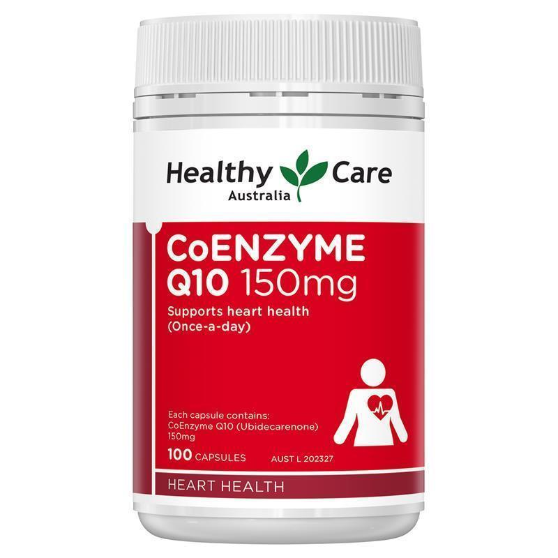 Healthy Care Coenzyme Q10 150mg 100 Capsules My Chemist