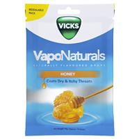 Vicks VapoNaturals Honey Fresh Re-seal Bag 19