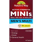Nature's Way Mini's Men's Multivitamin 50 Tablets
