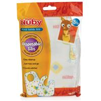 Nuby Bibs Disposable 10 Pack