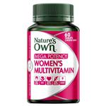 Nature's Own Women's Multivitamin Mega Potency 60 Tablets