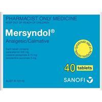 Mersyndol 40 Tablets