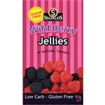 Sugarless Jellies Wild Berry 90g