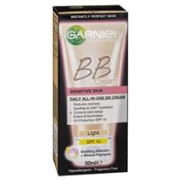 Garnier Youthful Radiance Miracle Skin Perfector BB Cream Sensitive Light 50ml