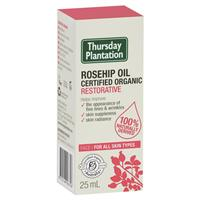 Thursday Plantation Certified Organic Rosehip Oil 25ml