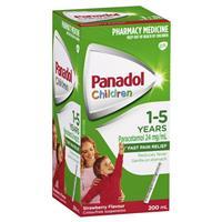 Panadol Child 1-5 Years Strawberry 200mL