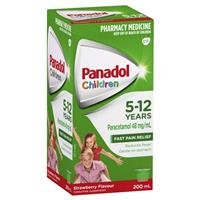 Panadol Child 5-12 Years Strawberry 200mL