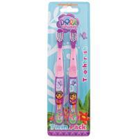 Dora The Explorer Toothbrush Duo Pack
