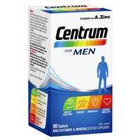 Centrum For Men 90 Tablets Exclusive Size