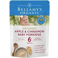 Bellamy's Organic Apple Cinnamon Porridge 125g