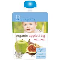 Bellamy's Organic Apple Fig & Oatmeal 90g