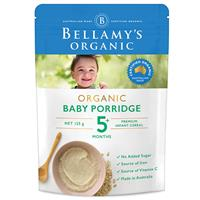 Bellamy's Organic Baby porridge 125g