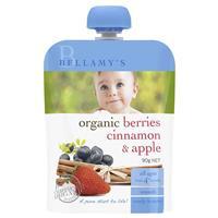 Bellamy's Organic Berries Cinnamon & Apple 90g