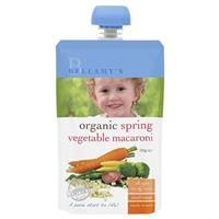 Bellamy's Organic Spring Vegetable Macaroni 110g