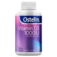 Ostelin Vitamin D 1000IU 300 Capsules Exclusive Size - Chemist Warehouse