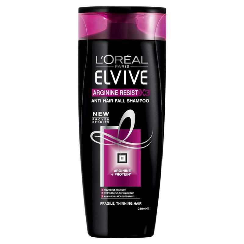 L Oreal Elvive Arginine Resist 3 Shampoo 250ml Epharmacy