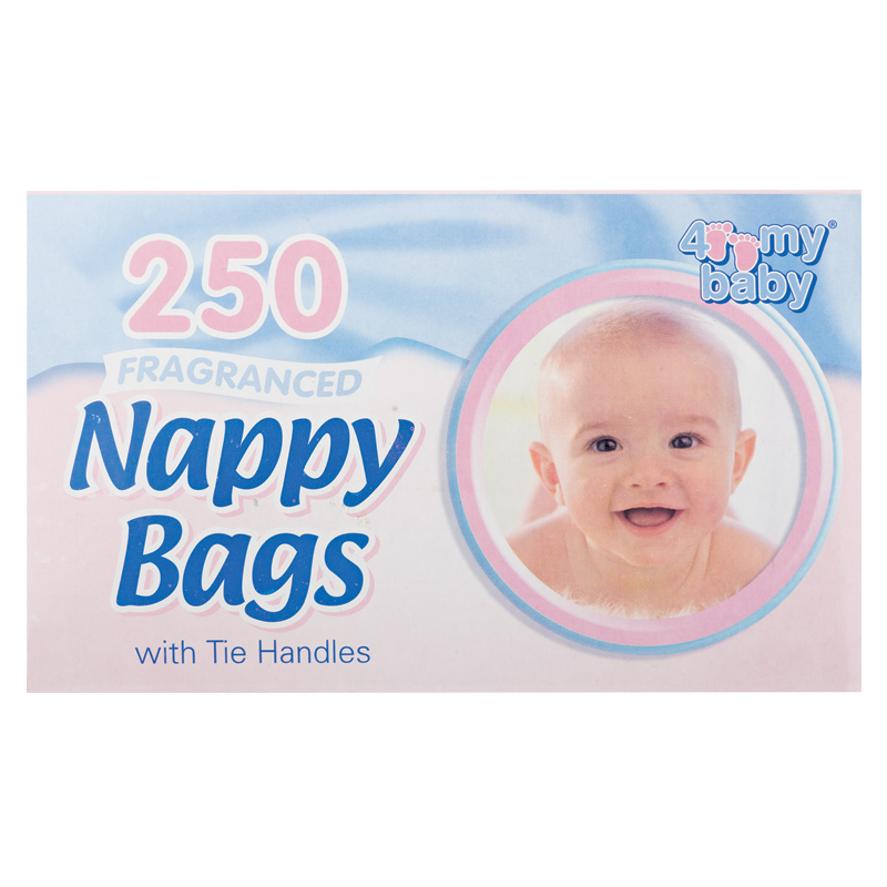 Image of 4 My Baby Nappy Bags 250