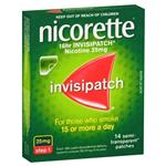 Nicorette Invispatch 25mg 14 Pack