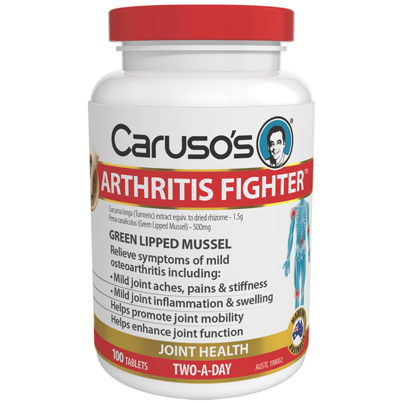 Carusos Natural Health Arthritis Fighter  Tablets