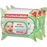 Health & Beauty Baby Wipes 3x30 Travel Pack
