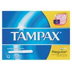 Tampax Tampons Regular 12 Pack