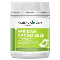 Healthy Care African Mango Seed Extract 150mg 60 Capsules