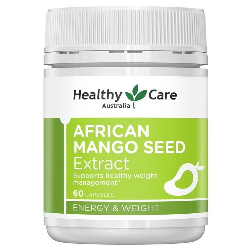 healthy care african mango seed extract 150mg 60 capsules chemist warehouse. Black Bedroom Furniture Sets. Home Design Ideas