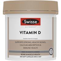 Swisse Ultiboost Vitamin D 400 Capsules
