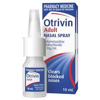 Otrivin Metered Dose Nasal Mist Adult 10mL