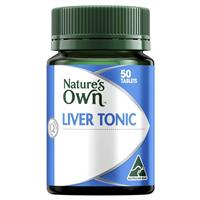 Nature's Own Liver Tonic 50 Tablets