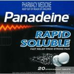 Panadeine Rapid Soluble 20 Tablets