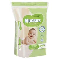 Huggies Wipes Cucumber & Aloe 240