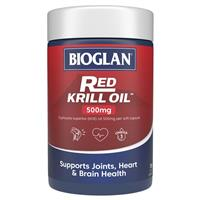 Bioglan Red Krill Oil 500mg 120 Capsules