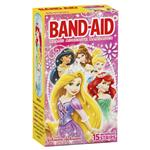 Band-Aid Adhesive Bandages Disney Princess 15 Pack
