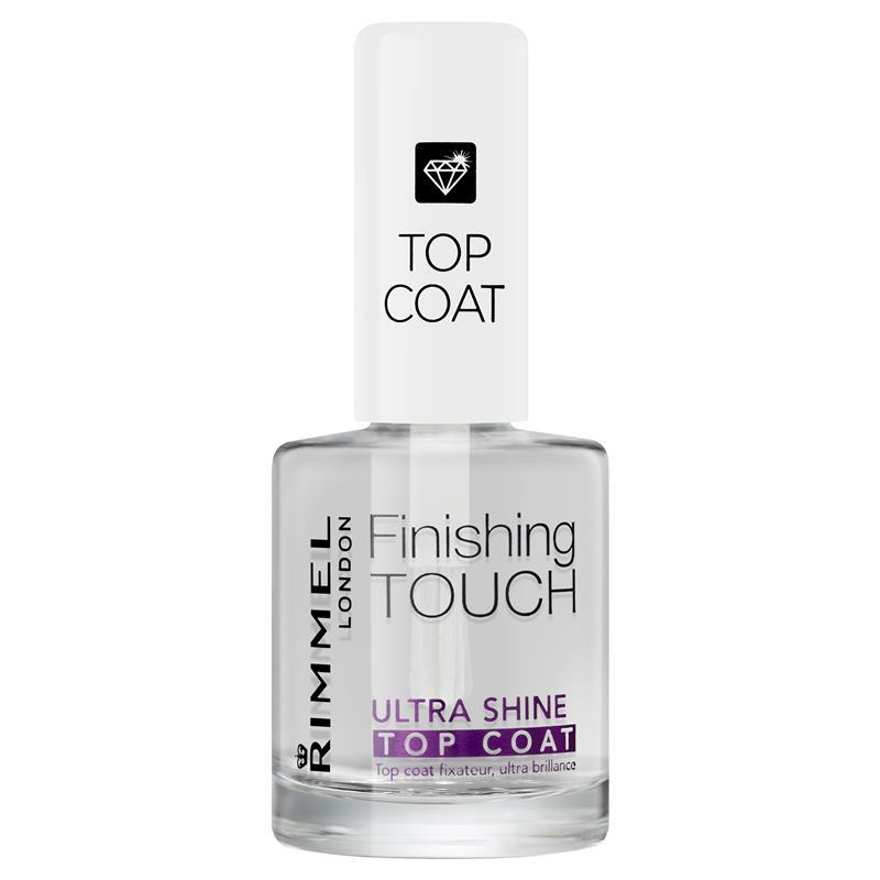 Rimmel Salon Pro Top Coat Ultrashine : My Beauty Spot