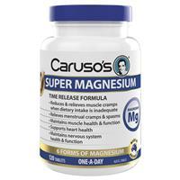 Carusos Natural Health Ultra Max Magnesium Complex 120 Tablets