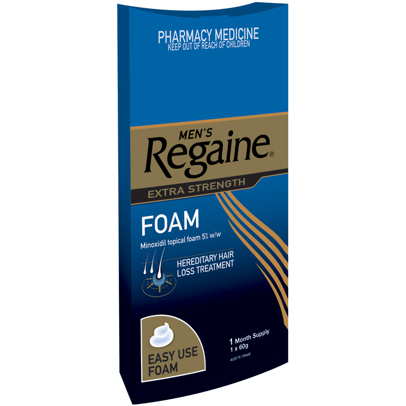 How to use regaine foam