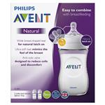 Avent Natural 260ml Feeding bottle 2pk