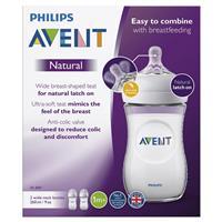 Avent Natural 260ml Feeding bottle 2pk