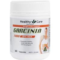 Healthy Care Garcinia Cambogia 1000 60 Capsules - Buy 6 & Save (Online Promotional Price)
