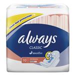 Always Classic Wings Normal 10 Pack