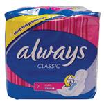 Always Classic Wings Maxi 9 Pack
