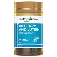 Healthy Care Bilberry Lutein 120
